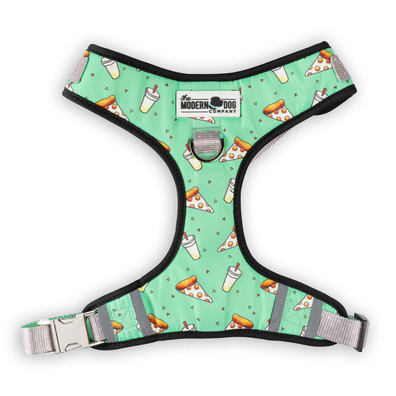 Pizza Party Dog Harness