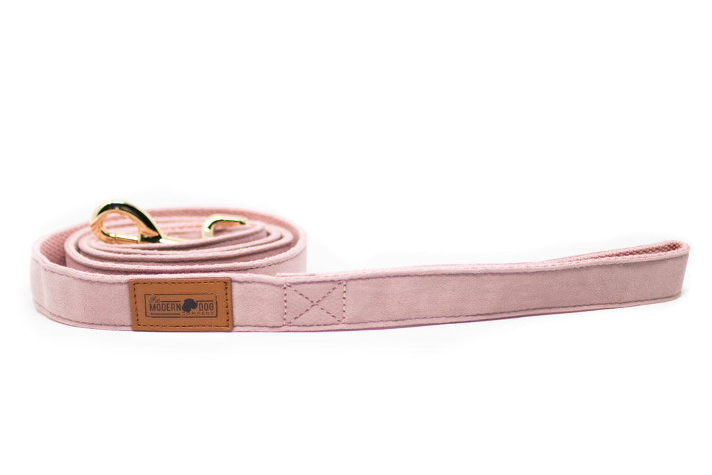 Pink Velour Leash