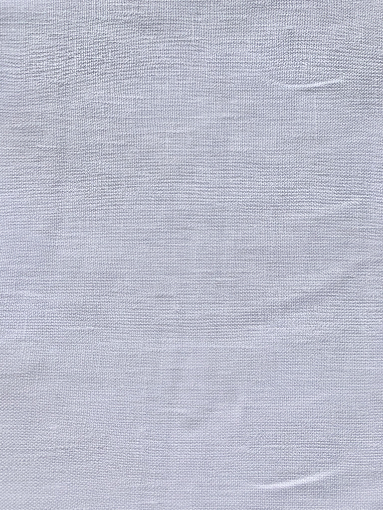 white cotton linen