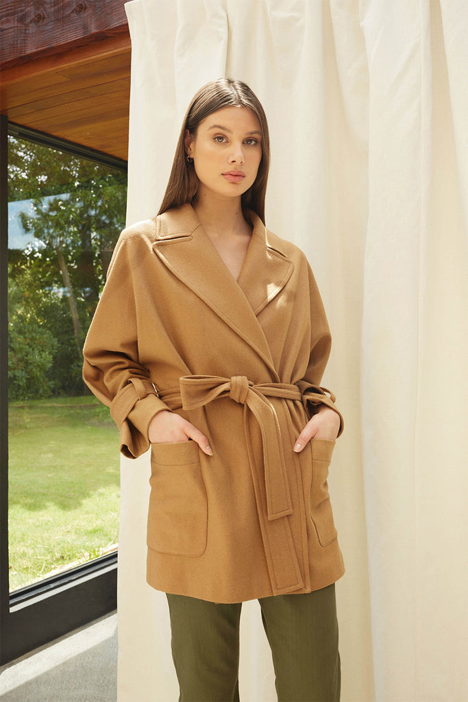 in the loop mini coat