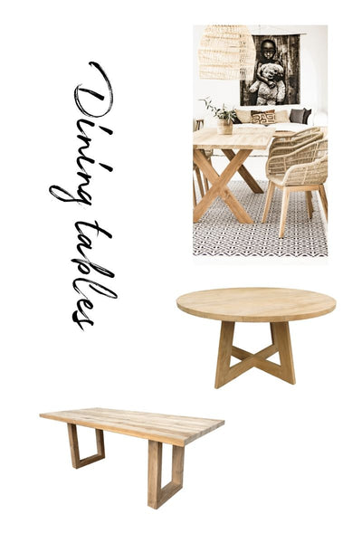 Zoco Home dining table collection