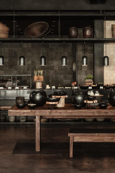 Casa Cook restaurant interior design