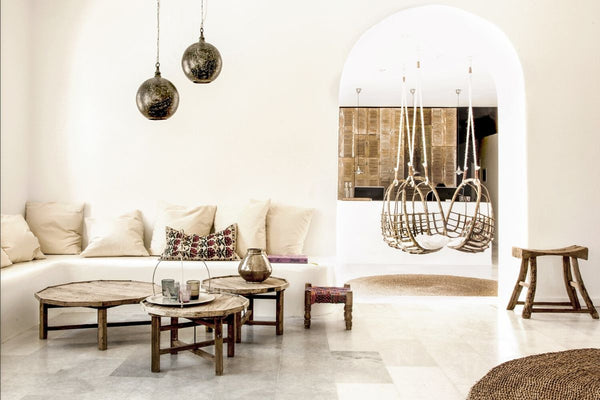 Soho Roc House, Mykonos interior design