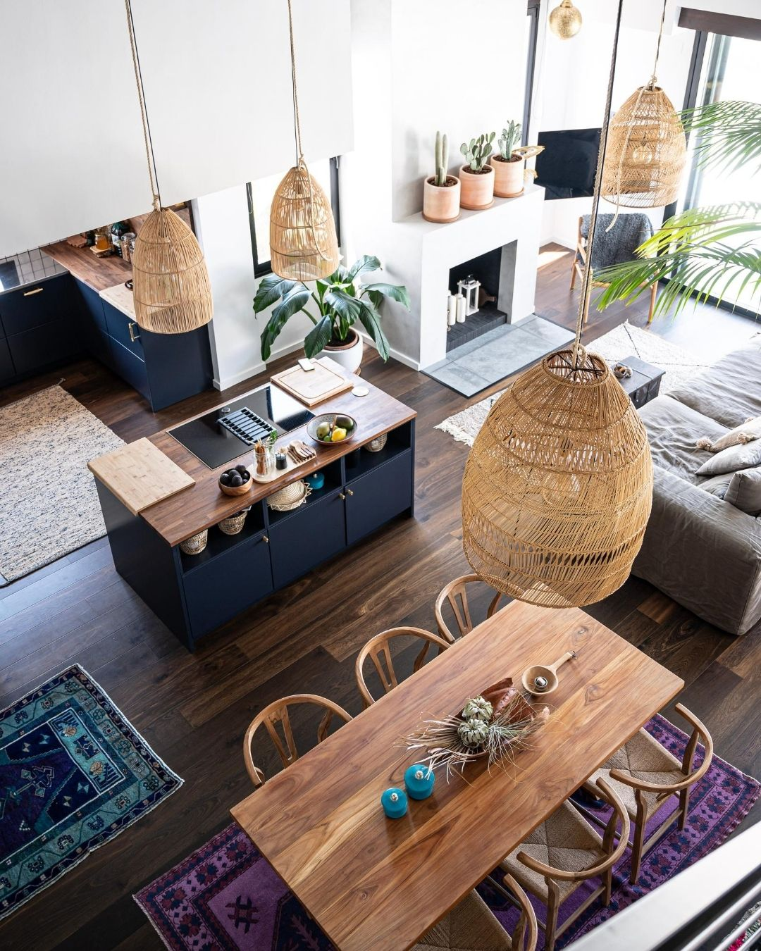 Boho Scandinavian decor Marbella