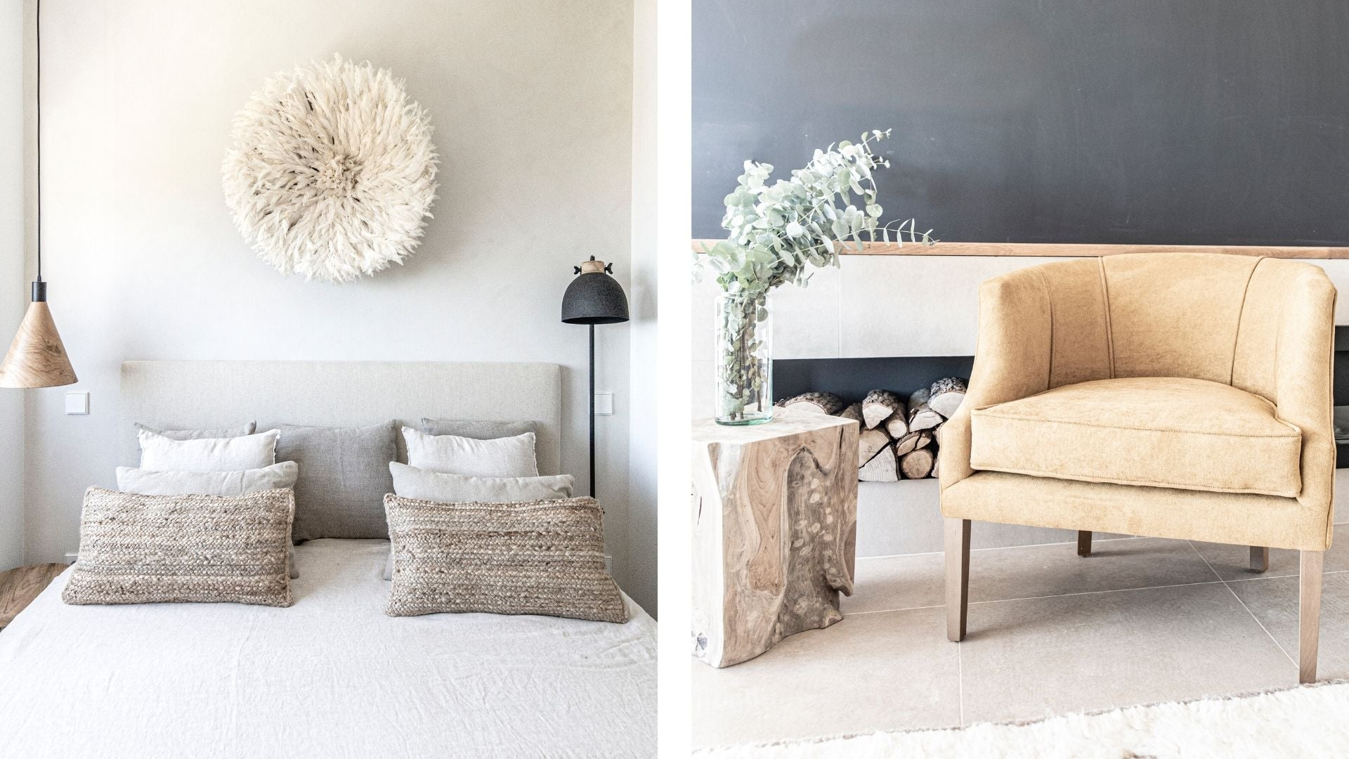 Add a statement piece in your home with wall decor