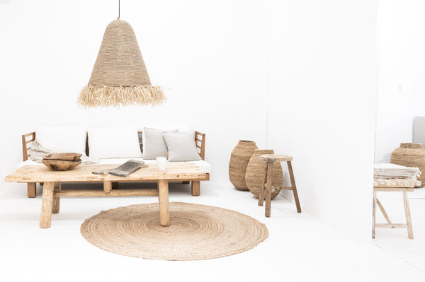 White natural Nordic Boho decor