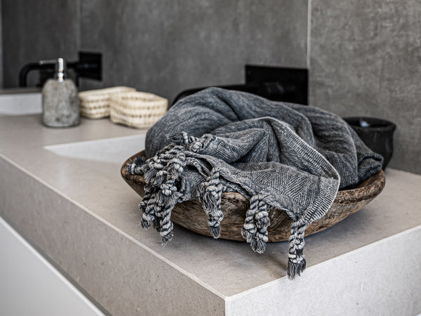 Bathroom decor tips to create nordic Boho style