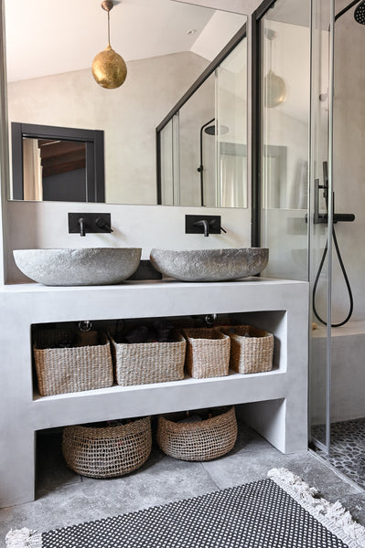 Micro Cement Bathroom Interior Design service es in Marbella