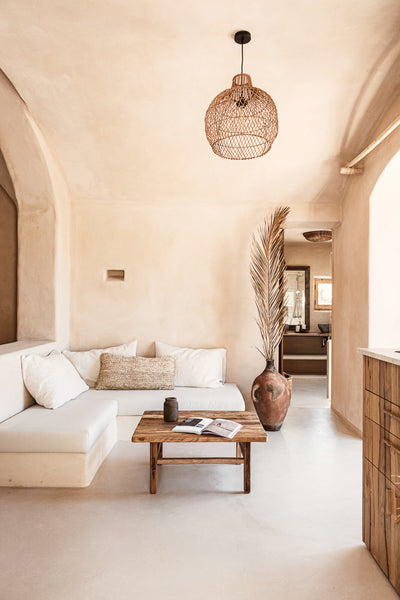 Vintage style interior design and decor in Ibiza by Zoco Home