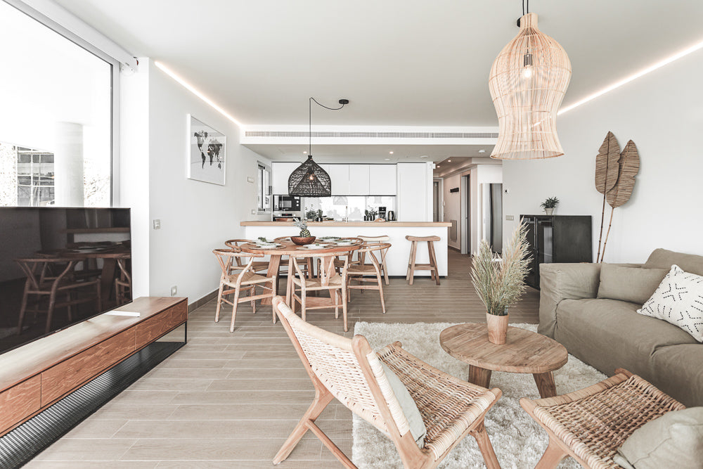 Natural colors in home decoration from Higueron Benalmadena