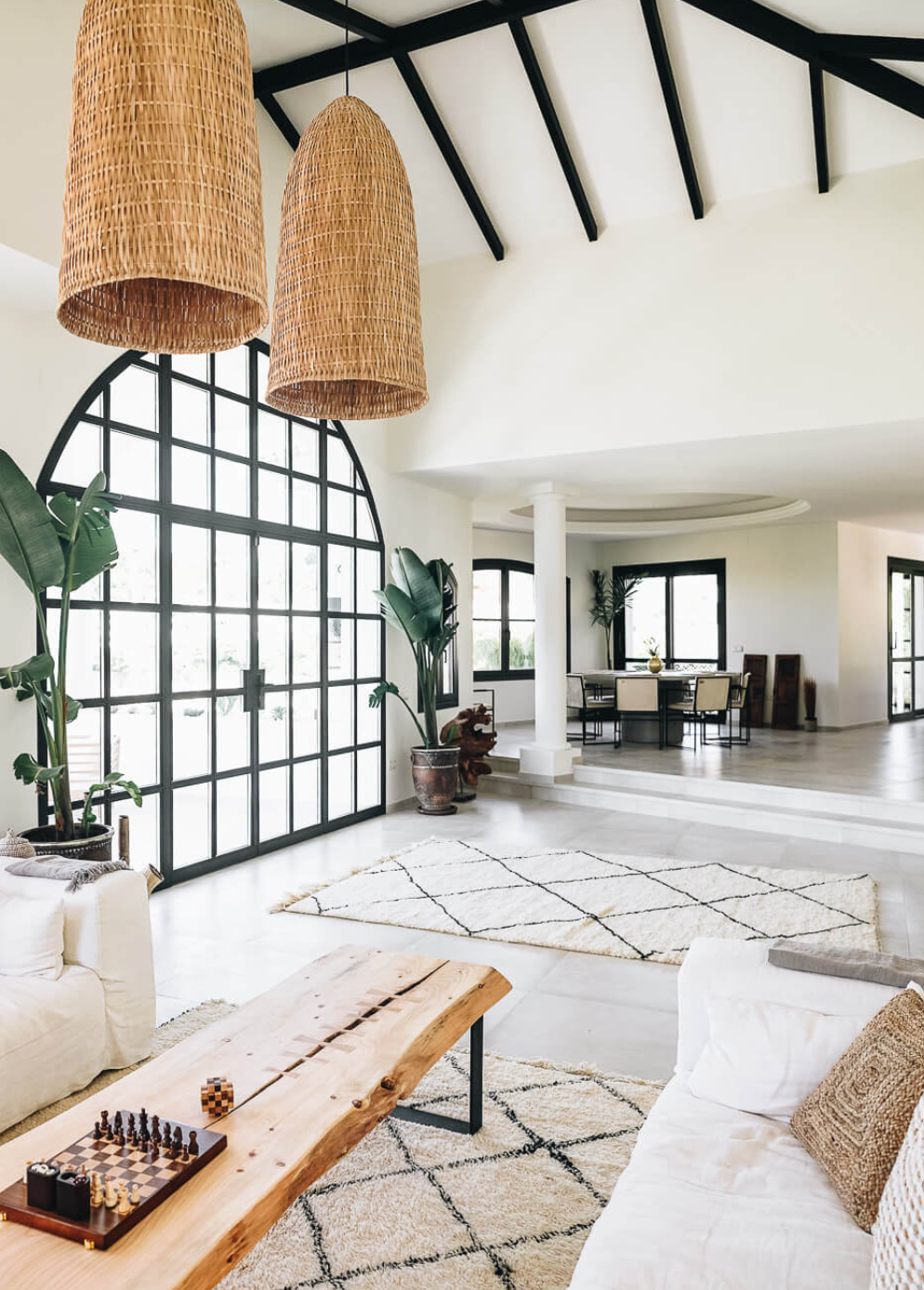 Janni Dehler and Jonni Olsson Casa Castle Home in Marbella