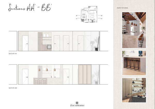 Interio Design Floor plan Marbella