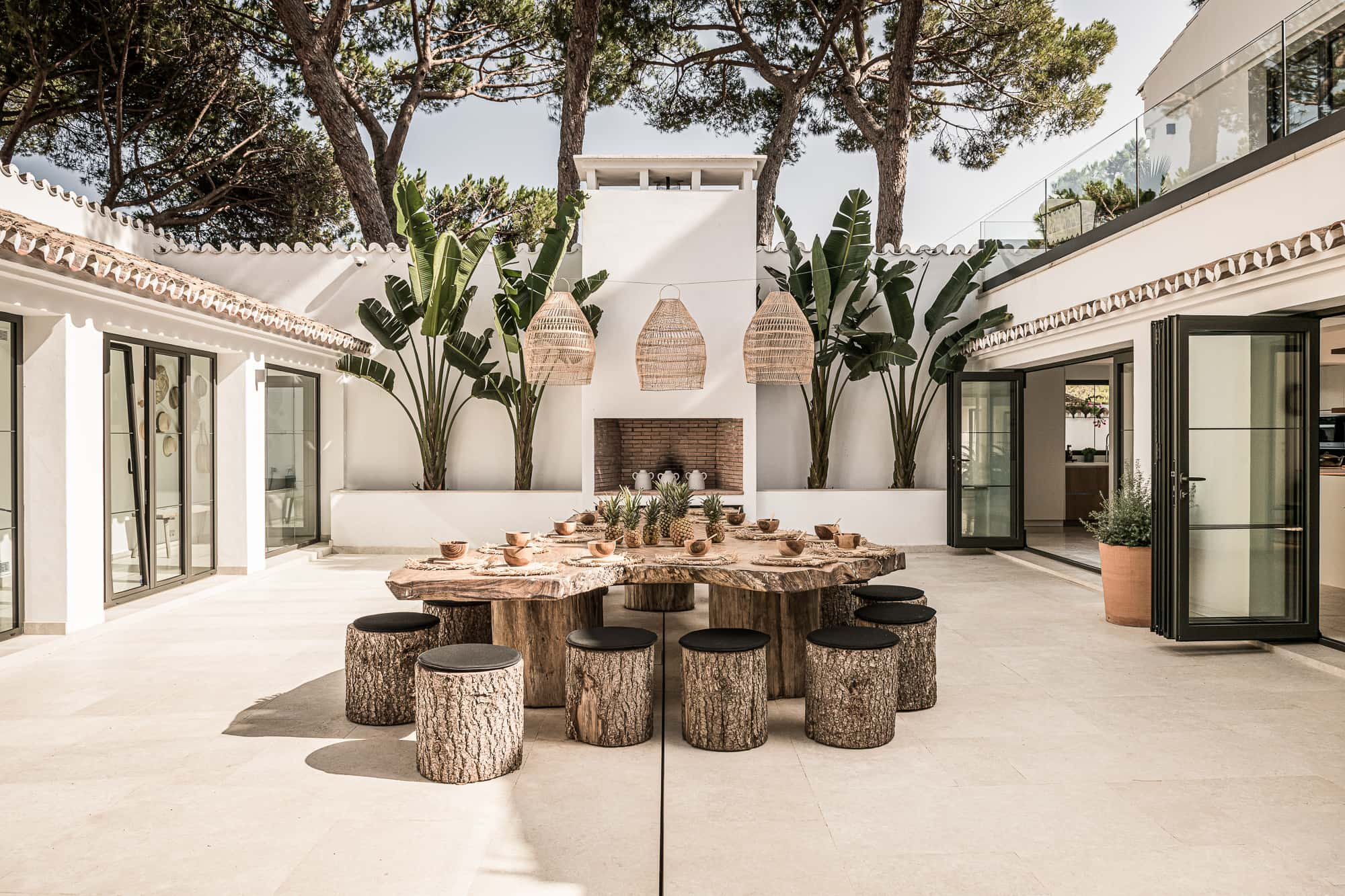 Zoco Home outdoor furniture and lampshades