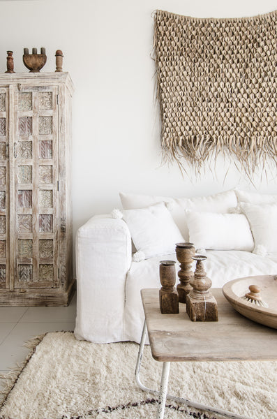 Linen sofa is big interior design trend for autumn 2020
