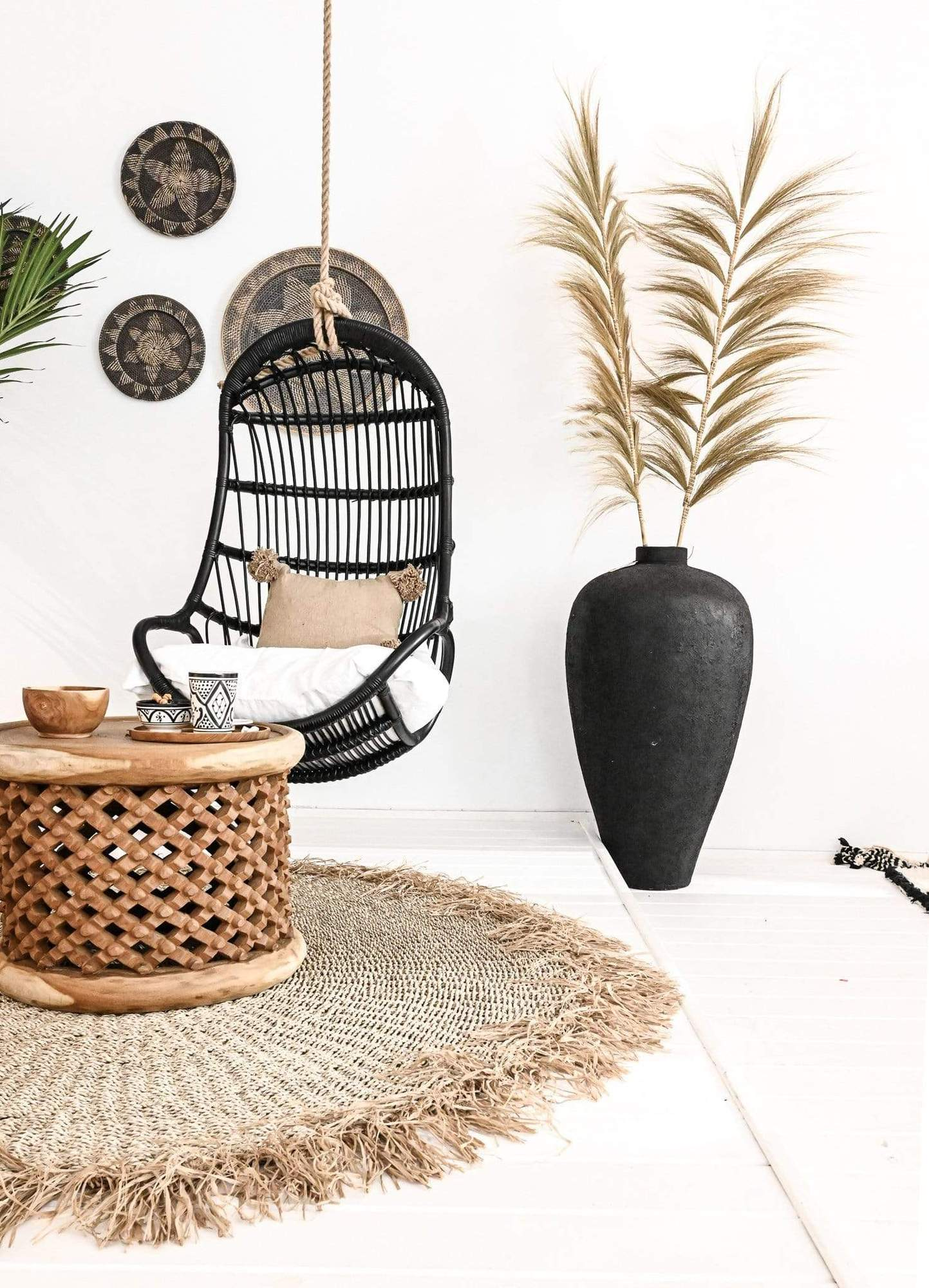Zoco Home Hanging Swing Chair