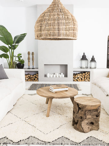 Spice up your interior with vintage items to create some Scandinavian boho style