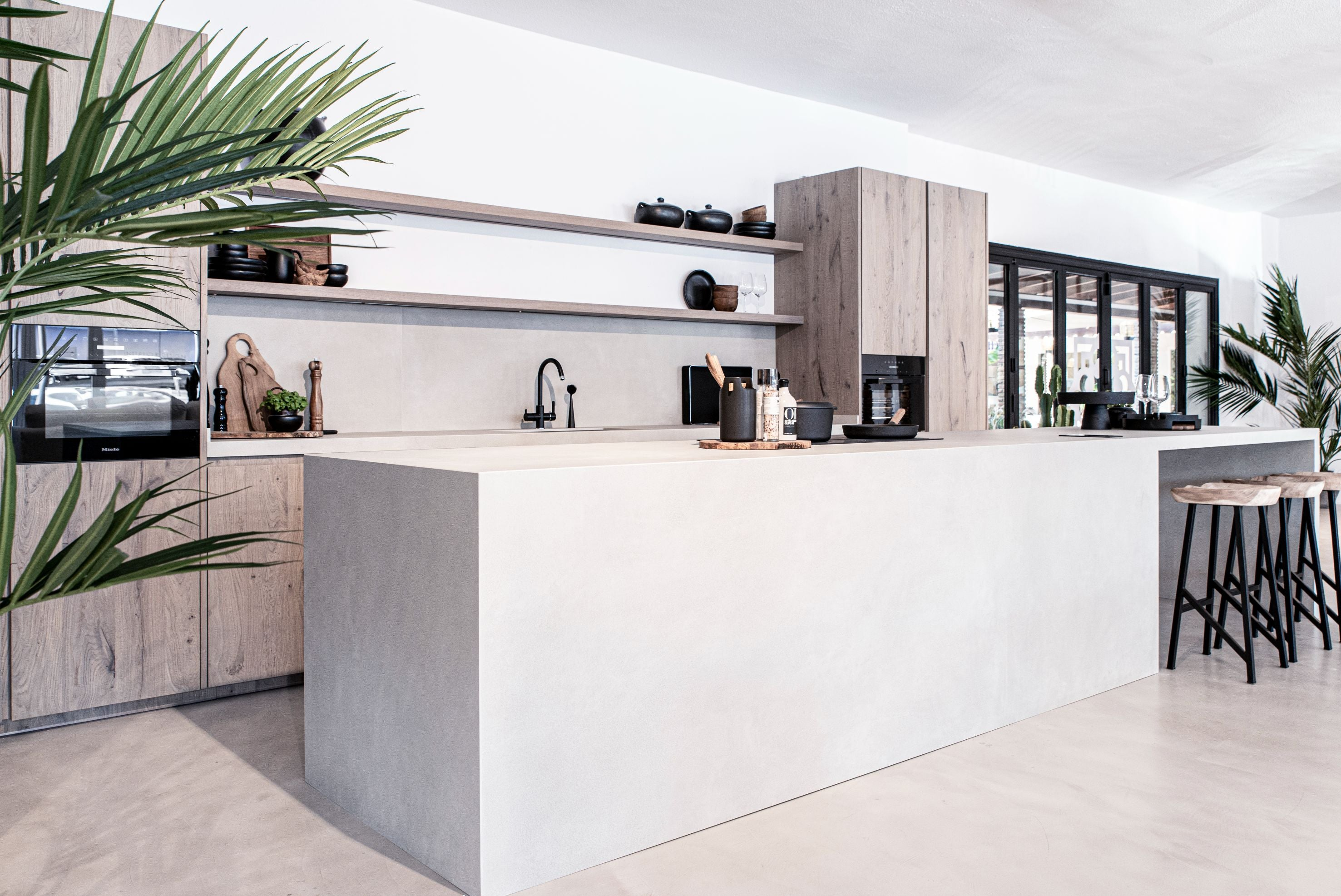 Kitchen Design clean and aesthetic look