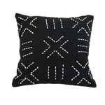Bali Cushion Cover | Black 45cm