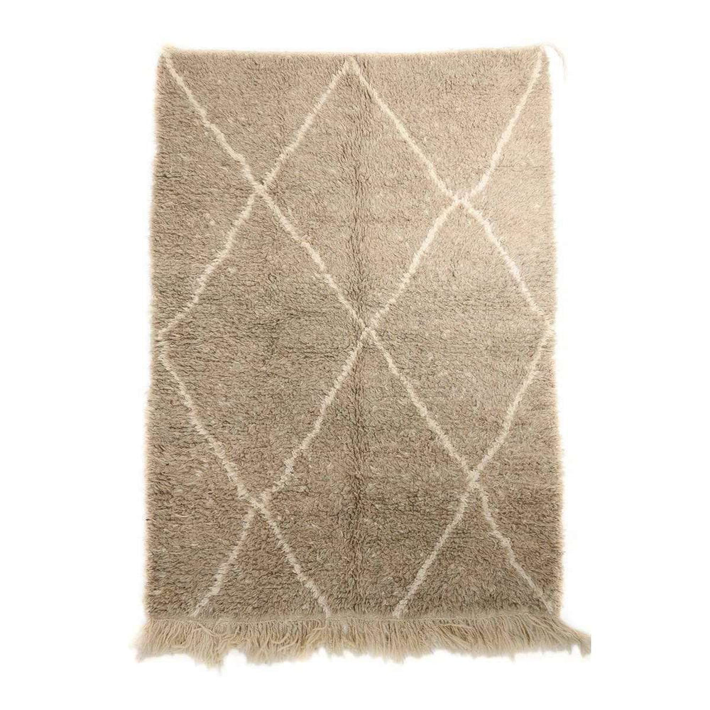 Beni Ourain Rug | Brown | 225x155cm