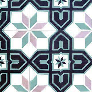 Patterned Cement Tile | 20420 - Zoco Home