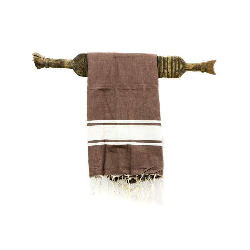Fouta towel | Brown - Zoco Home