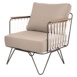 Croisette Armchair | Grey - Zoco Home