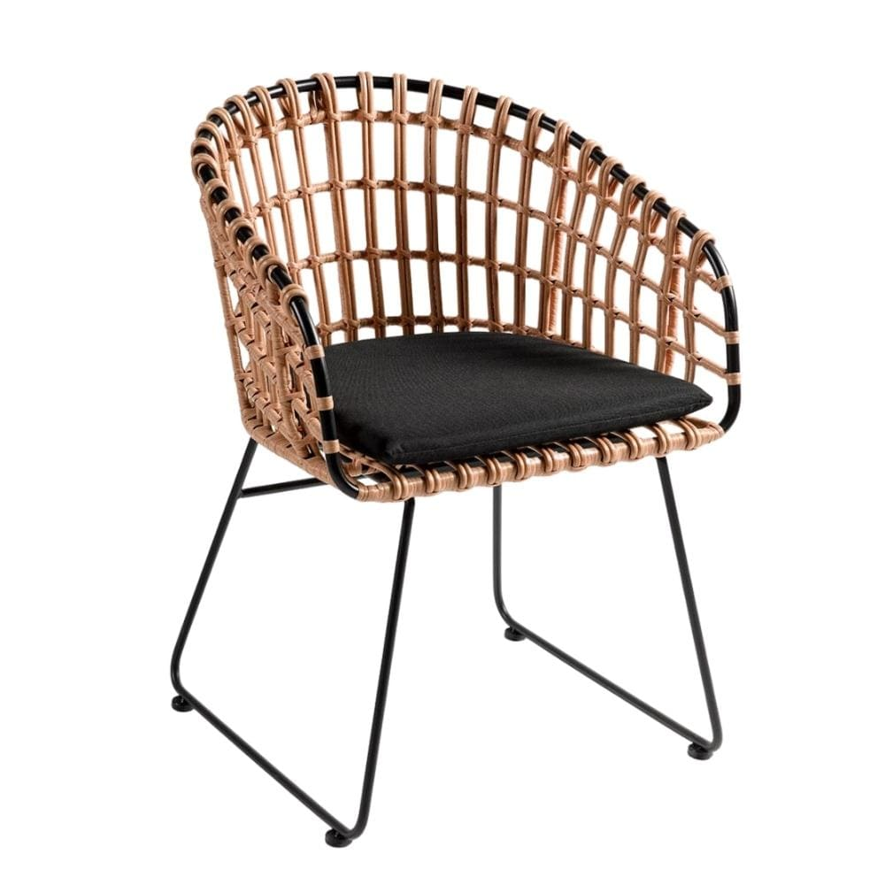 Zoco Home Dining Chairs Jaipur Rattan Outdoor Chair