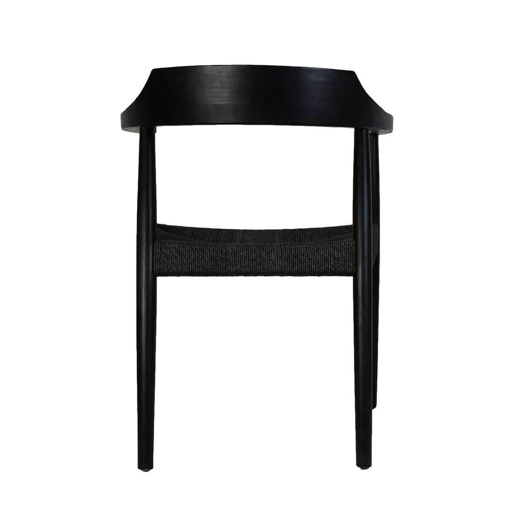 Zoco Home Dining Chairs Sungkai Dining Chair | Black 55x45x75cm