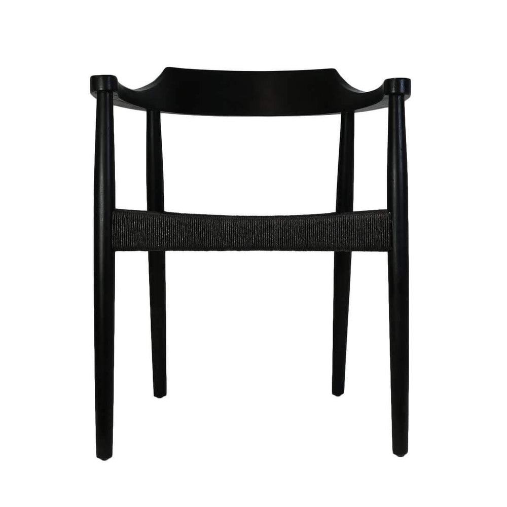 Sungkai Dining Chair | Black 55x46x71cm