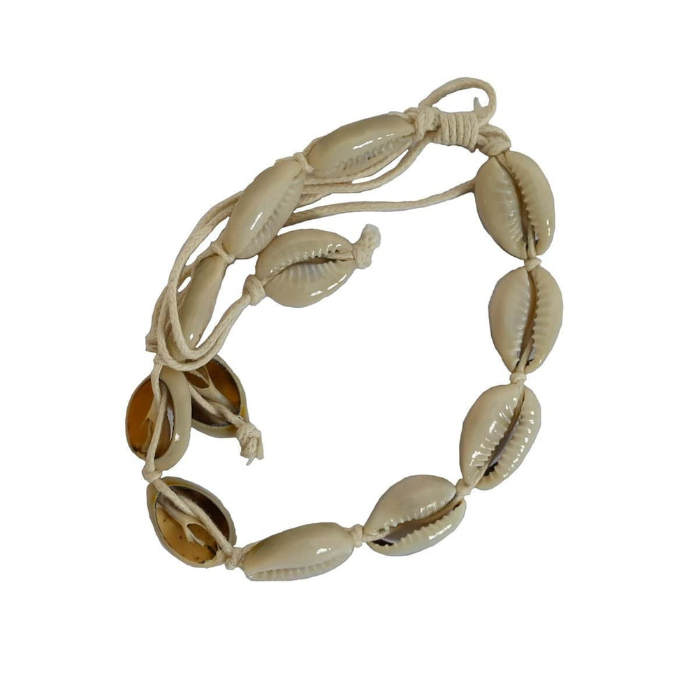 Seashell Bracelet | White
