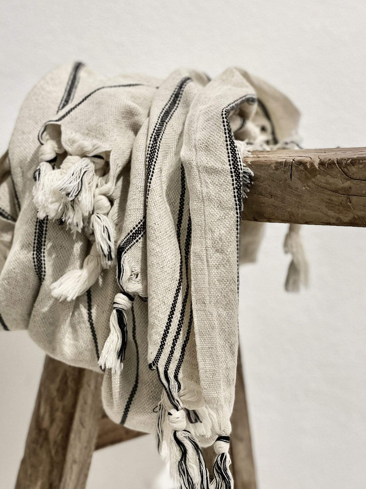 Zoco Home Textiles Fouta Towel + Soap