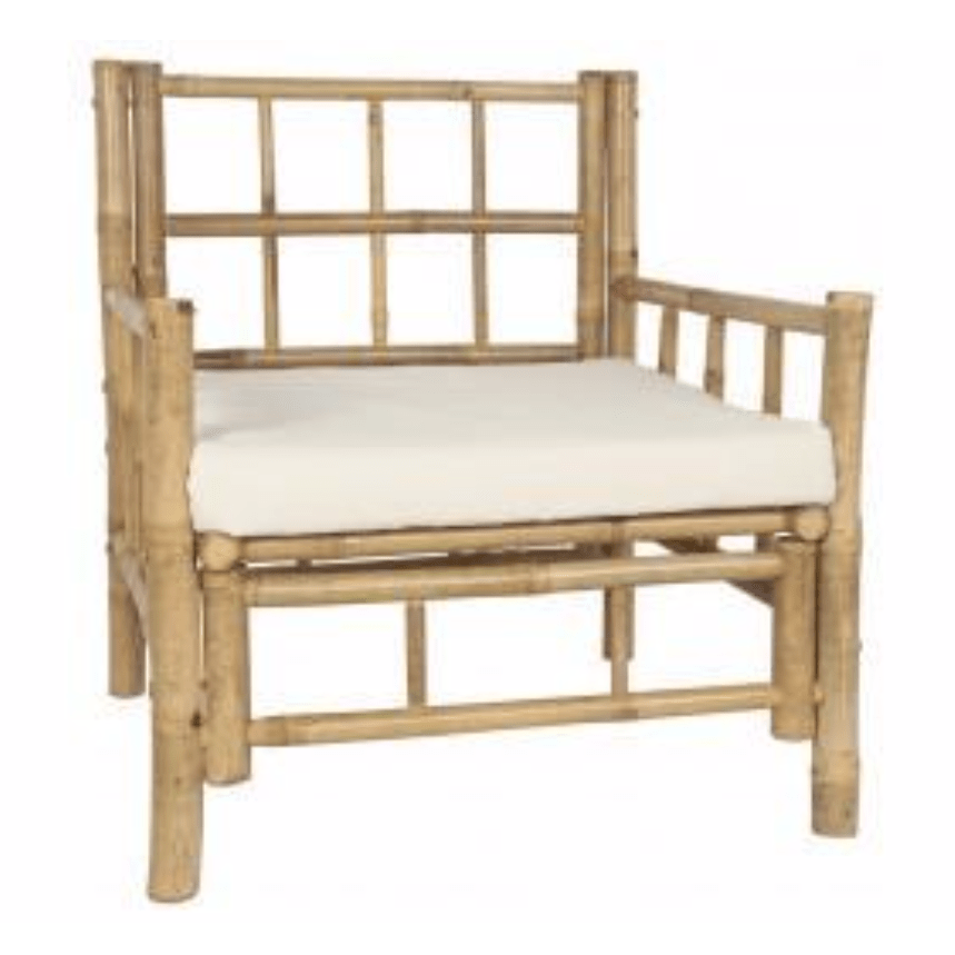 Zoco Home Furniture Bamboo chair | 70x70x80cm