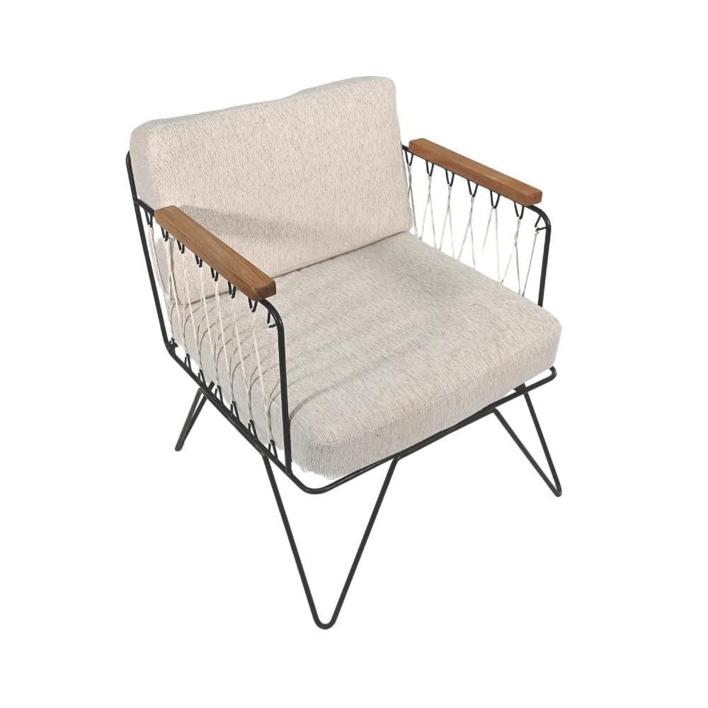 Zoco Home Furniture Croisette Armchair | Light Grey