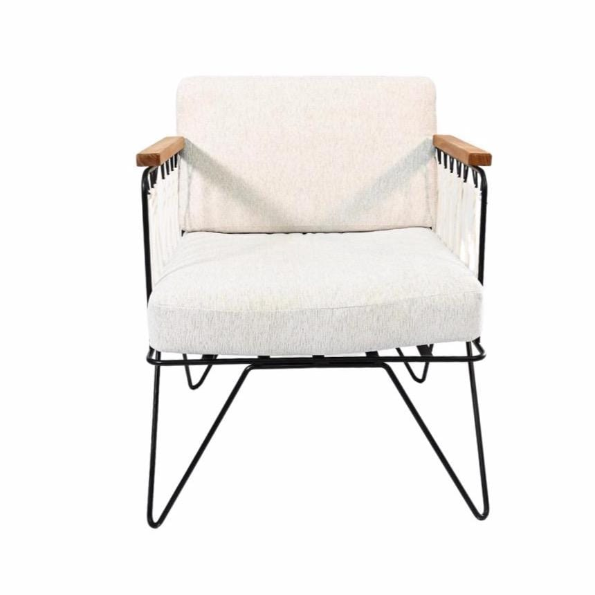 Croisette Armchair | Light Grey