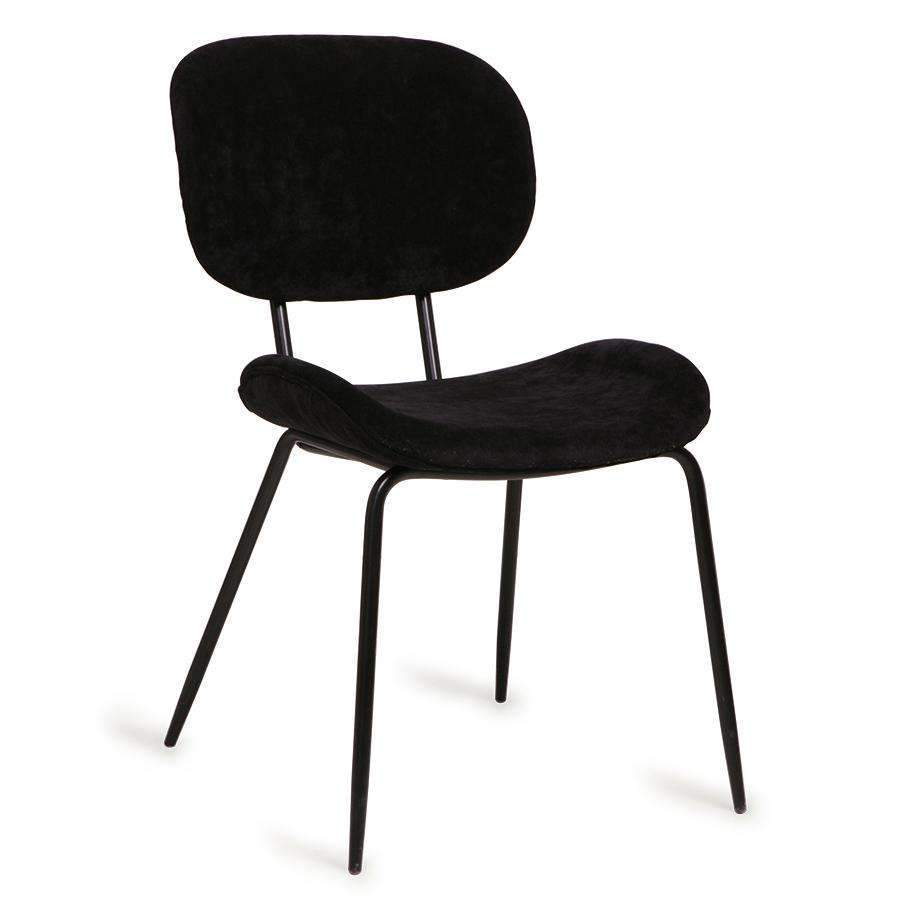 Dining Chair | Corduroy black