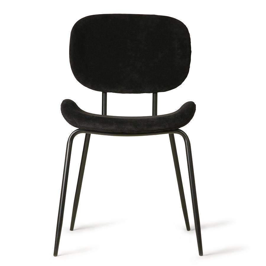 Zoco Home Furniture Dining Chair | Corduroy black