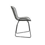 Zoco Home Furniture Iron Chair | Black
