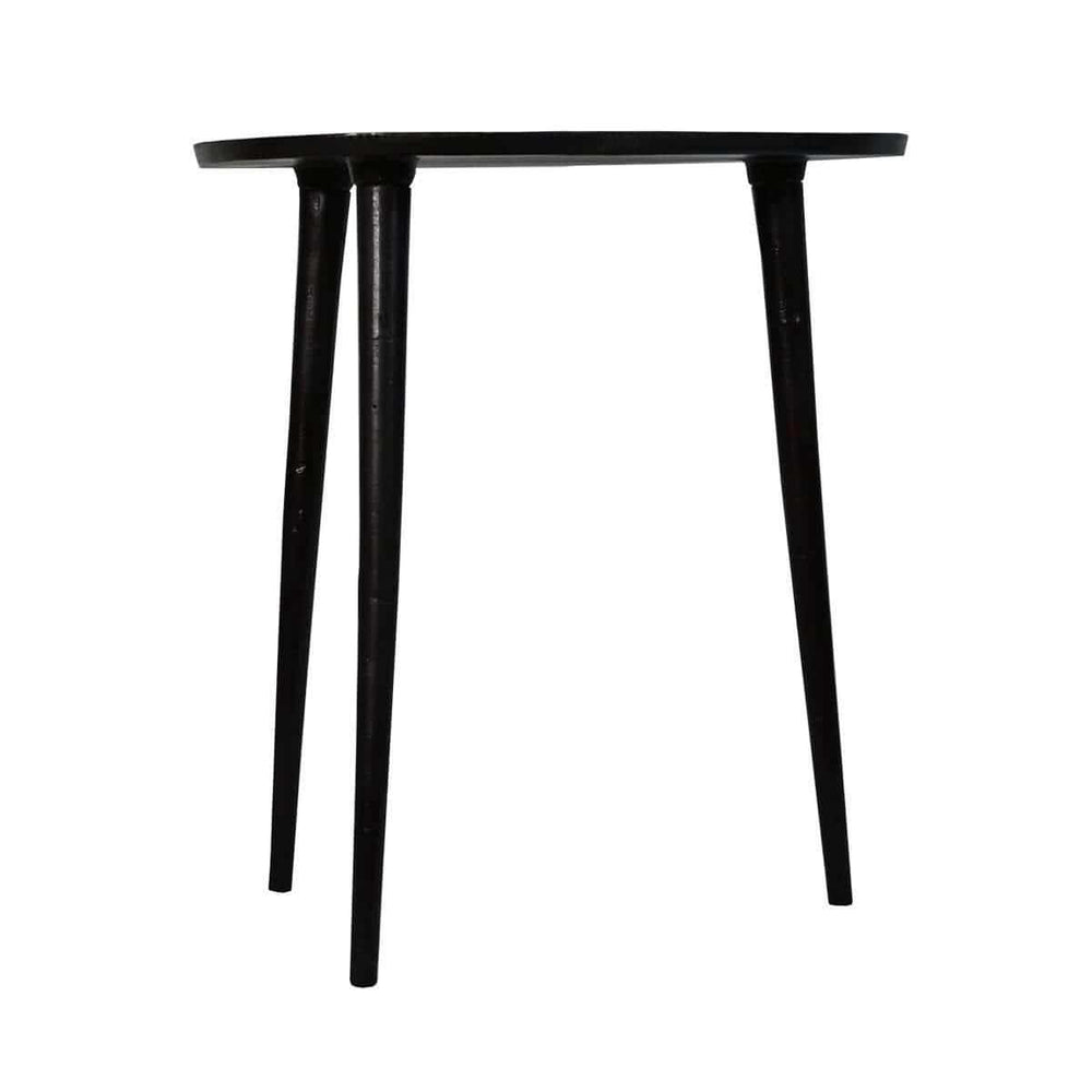 Zoco Home Furniture Iron Coffee Table | Black 44cm