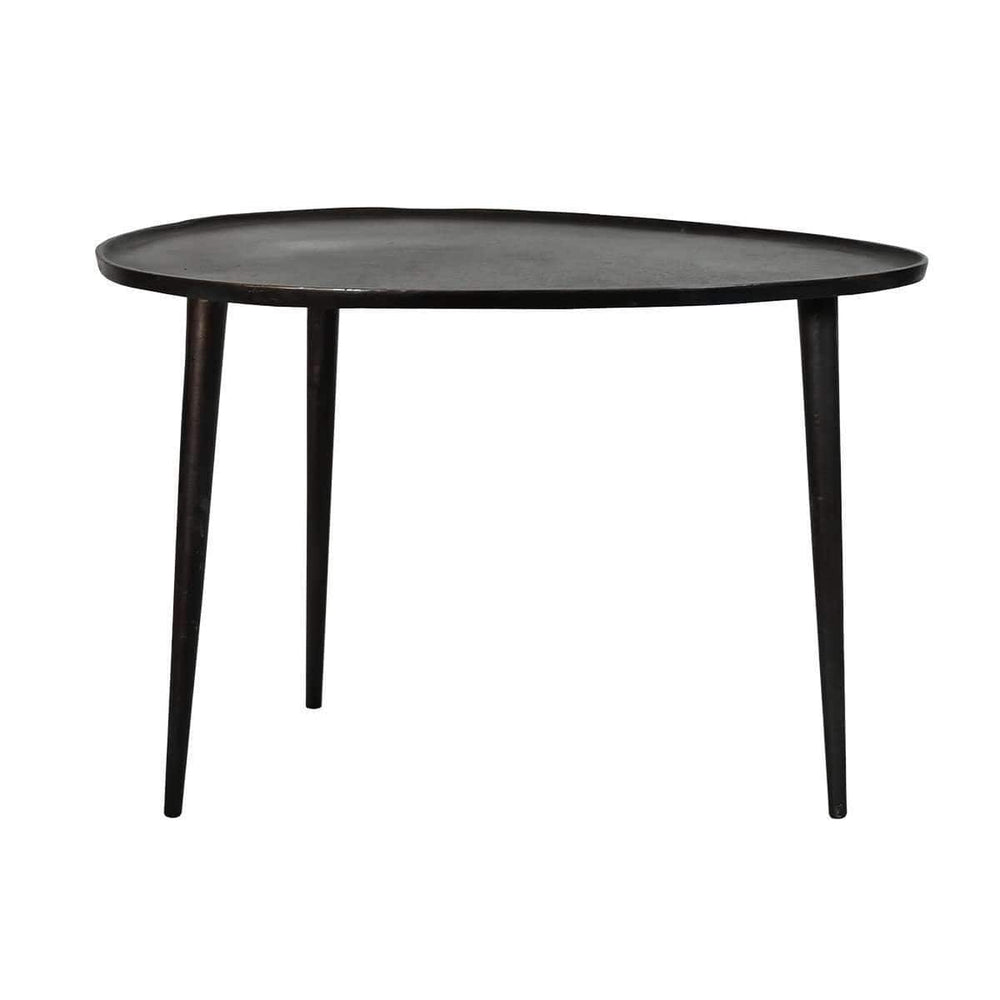 Iron Coffee Table | Black 60cm