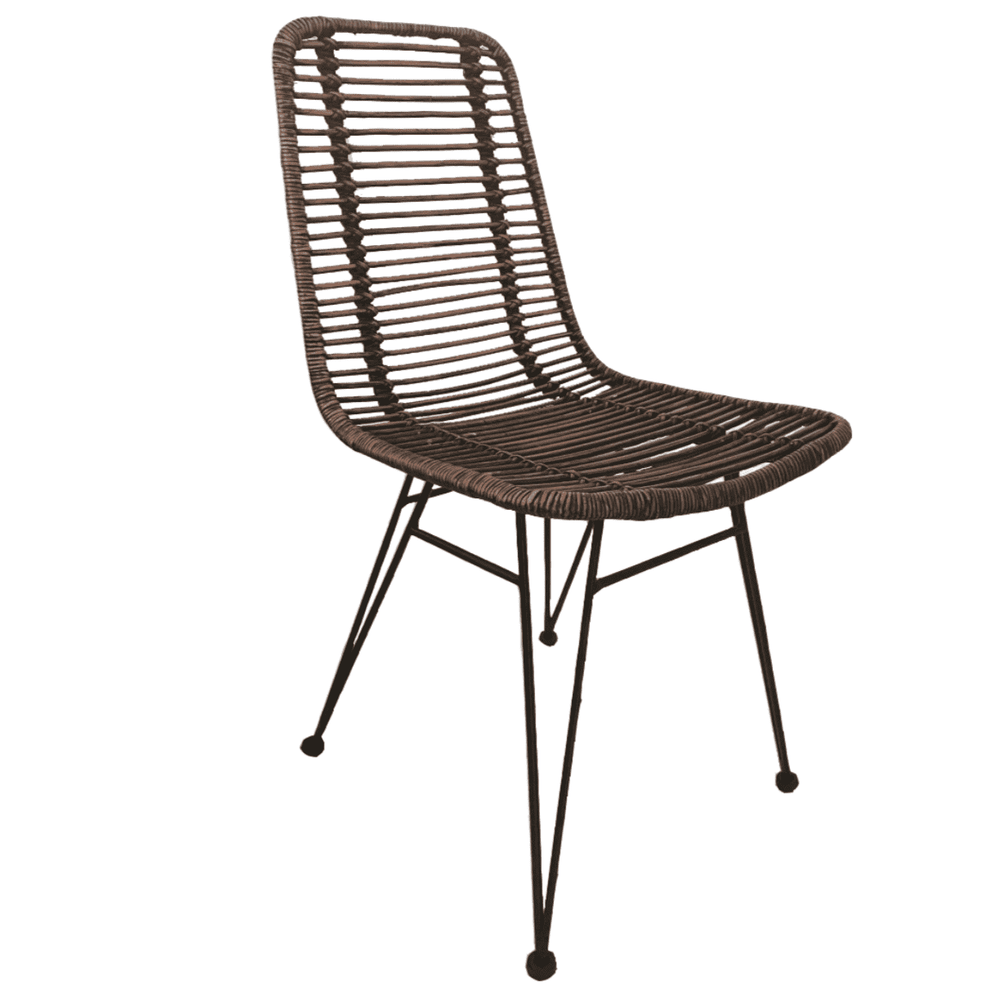 Rattan Chair | Tiger Brown 50x65x90cm