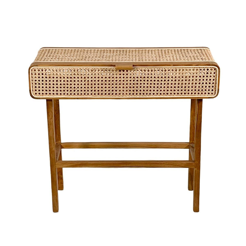 Rattan Console Table | 90x35x80cm