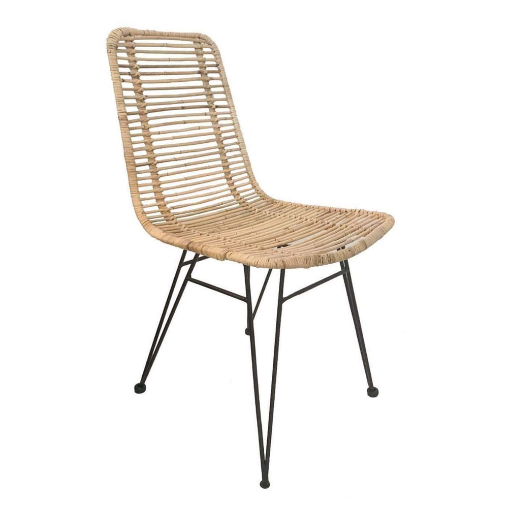 Zoco Home Furniture Rattan Dining Chair | Natural