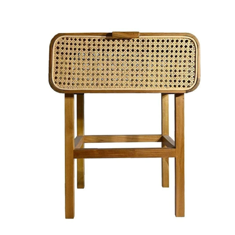 Zoco Home Furniture Rattan Night Stand | 45x42x60cm