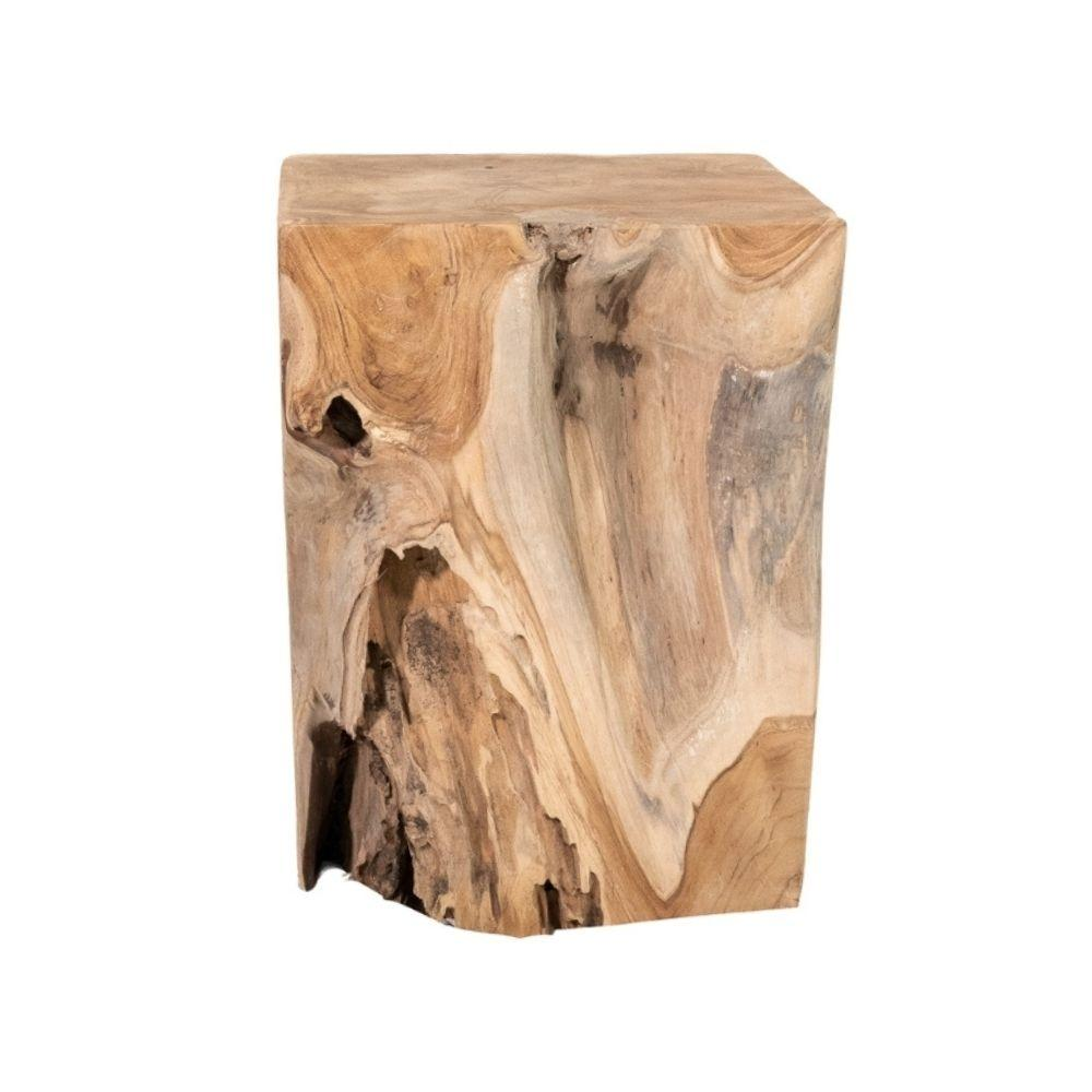 Zoco Home Furniture Square Root Stool | 30x37cm