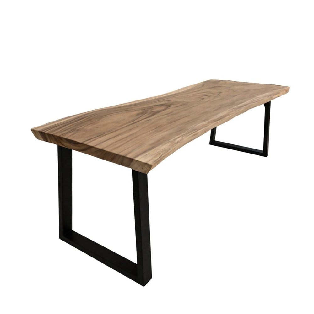 Suar Wood Dining Table | Natural 250cm