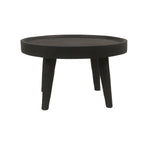 Suar wood Coffee Table | Black 60cm