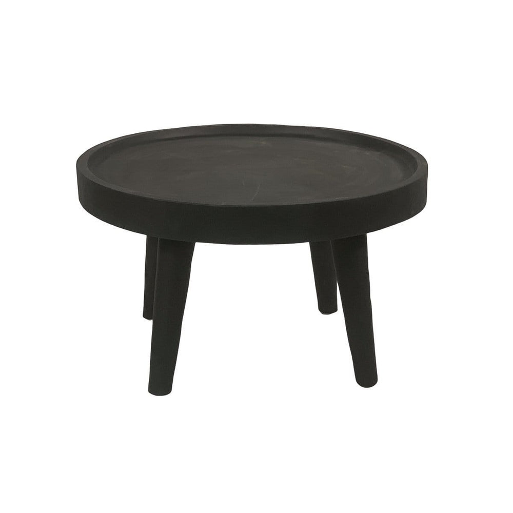 Zoco Home Furniture Suar wood Coffee Table | Black 80cm