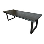Suar Wood Dining Table | Black 250cm