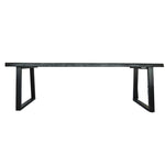 Zoco Home Furniture Suar Wood Dining Table | Black 250cm