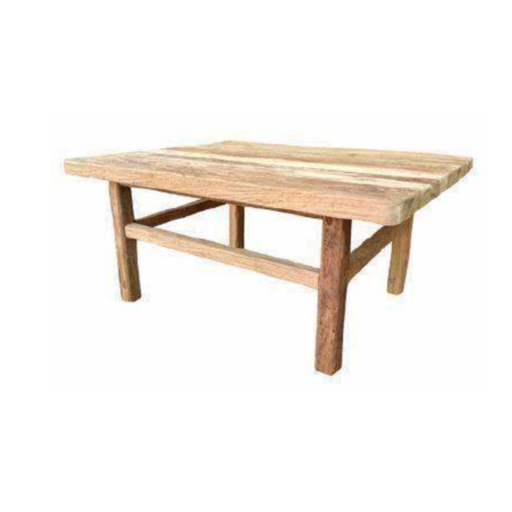 Zoco Home Furniture Teak Coffe Table | 80x60x35cm